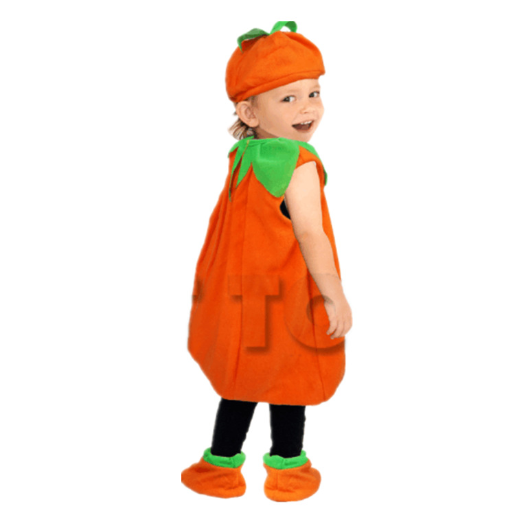 Image 3 - Halloween Party Costumes Toddler Baby Pumpkin Costume Cosplay for Baby Girl Boy Fancy Dress 80 150cm-in Game Costumes from Novelty & Special Use