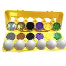 Kidzlane Color Matching Egg Set - Toddler Toys - Educational Color & Number Recognition Skills Learning Toy Easter Eggs number skills
