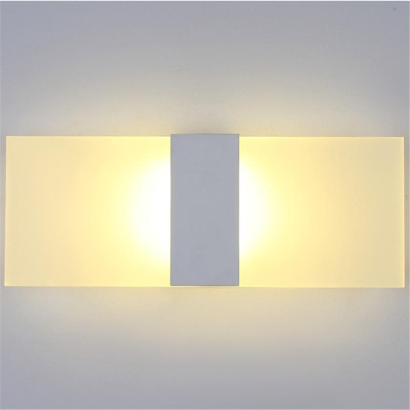 Nordic Designer LED Wall Lamp Light Contemporary Bathroom Led Mirror