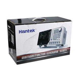 """Image 4 - Dds função de sinal gerador de forma de onda arbitrária hantek hdg2022b 2ch 20 mhz 250msa/s contador de freqüência gerner singnal usb 7 """"tft"""