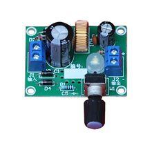 DIY Kit LM2596 Регулируемый Напряжение стабилизатор точным Buck шаг Подпушка Питание модуль