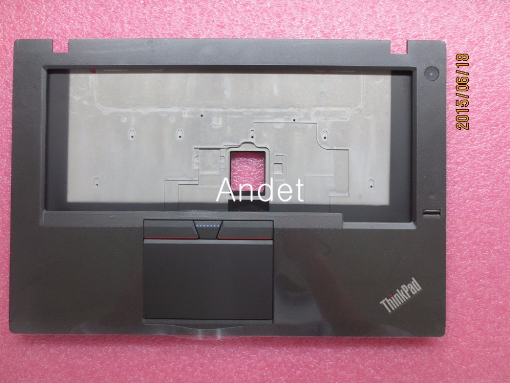 New Original for Lenovo ThinkPad T450 Palmrest KB Bezel Cover Case with Touchpad Fingerprint FPR Wo/Dock 00HN551 AM0TF00020 new original for lenovo thinkpad t460 palmrest keyboard bezel upper case with fpr tp fingerprint touchpad 01aw302
