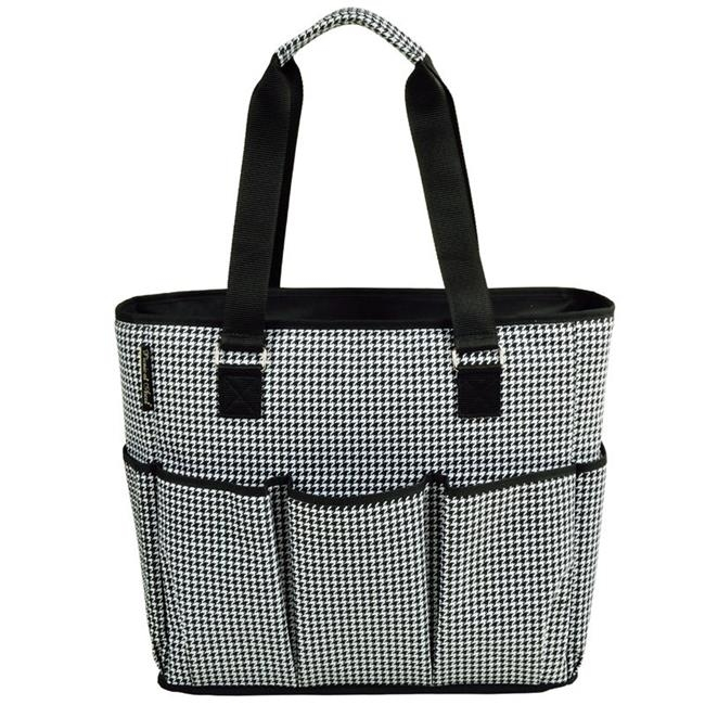 Picnic at Ascot 541-HT Large Insulated Multi Pocket Travel Bag Houndstooth paddington at large