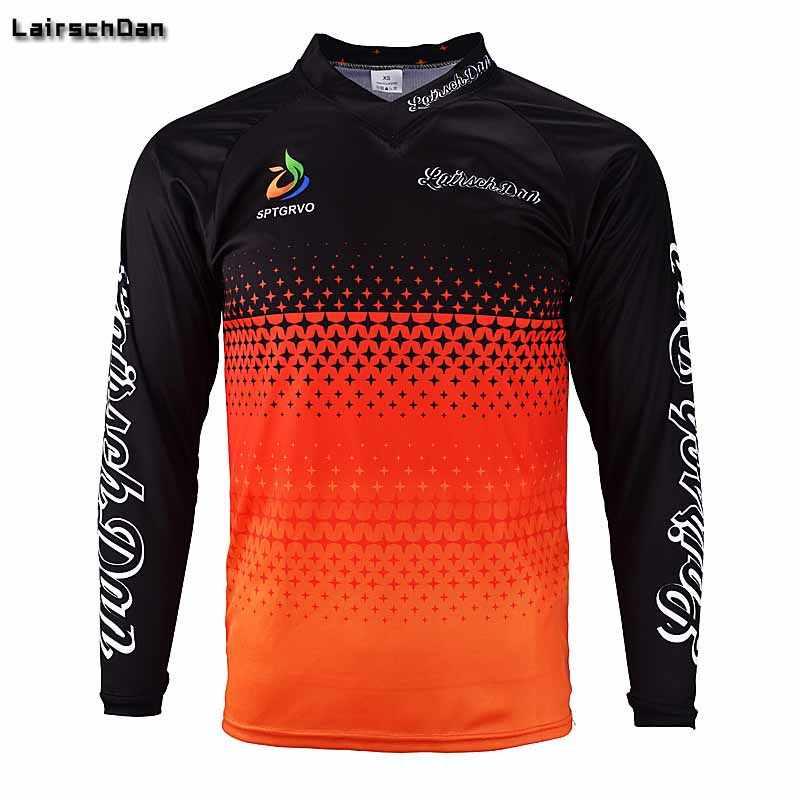 732b398e0 SPTGRVO LairschDan Enduro Jerseys Men Downhill Camiseta DH BMX Cycling  Jerseys Mountain Bike Offroad Motocross MTB