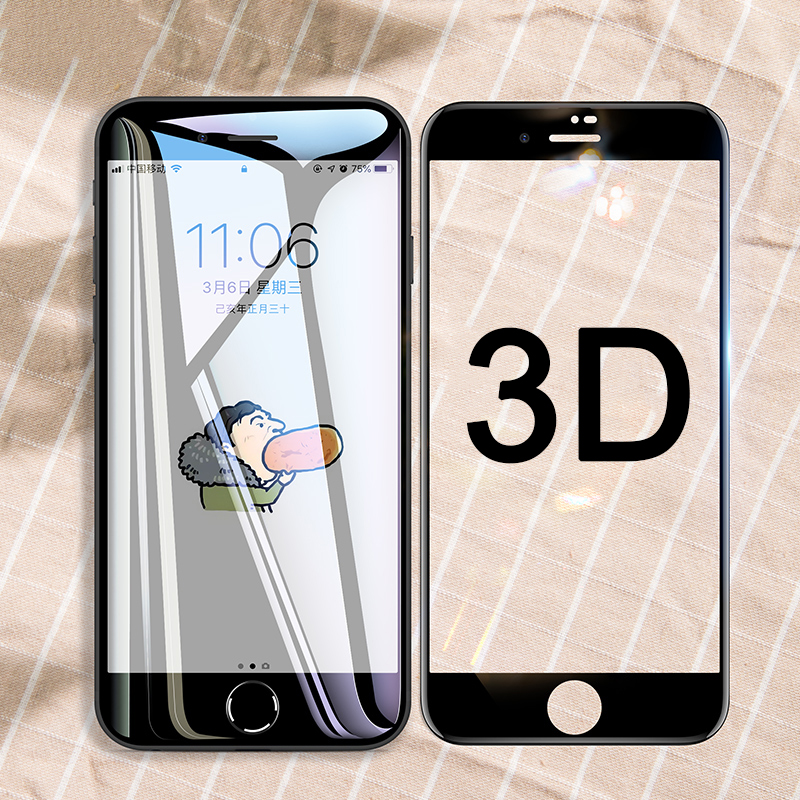3D 0.3mm Screen Protector Tempered Glass For IPhone Xs Max XR X S 6 6S 7 8 Plus Full Protective Glass On IPone Xsmax Protection