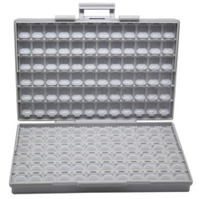 AideTek корпус поверхностного монтажа SMD хранения электроники ящики и органайзеры пластик антистатические резистор коробки