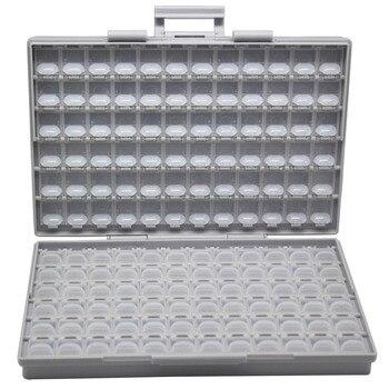 AideTek Enclosure Box Surface Mount SMD Storage Electronics Storage Cases & Organizers Plastics Anti-statics Resistor BOXALLS