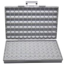 AideTek obudowa montaż powierzchniowy SMD elektronika do przechowywania pudełka do przechowywania i organizery plastikowe pojemniki antystatyczne tanie tanio Z tworzywa sztucznego BOXALLS