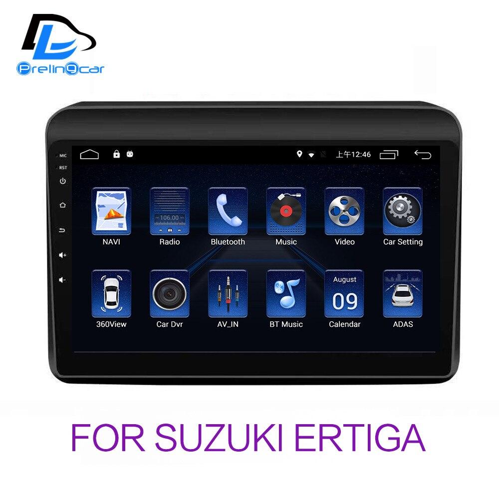 4G LTE Android 8.1 del sistema gps per auto multimedia video radio player in plancia per suzuki ERTIGA di navigazione stereo