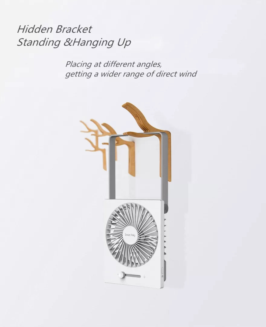 Xiaomi SmartFrog Portable Foldable USB Desktop Fan 6