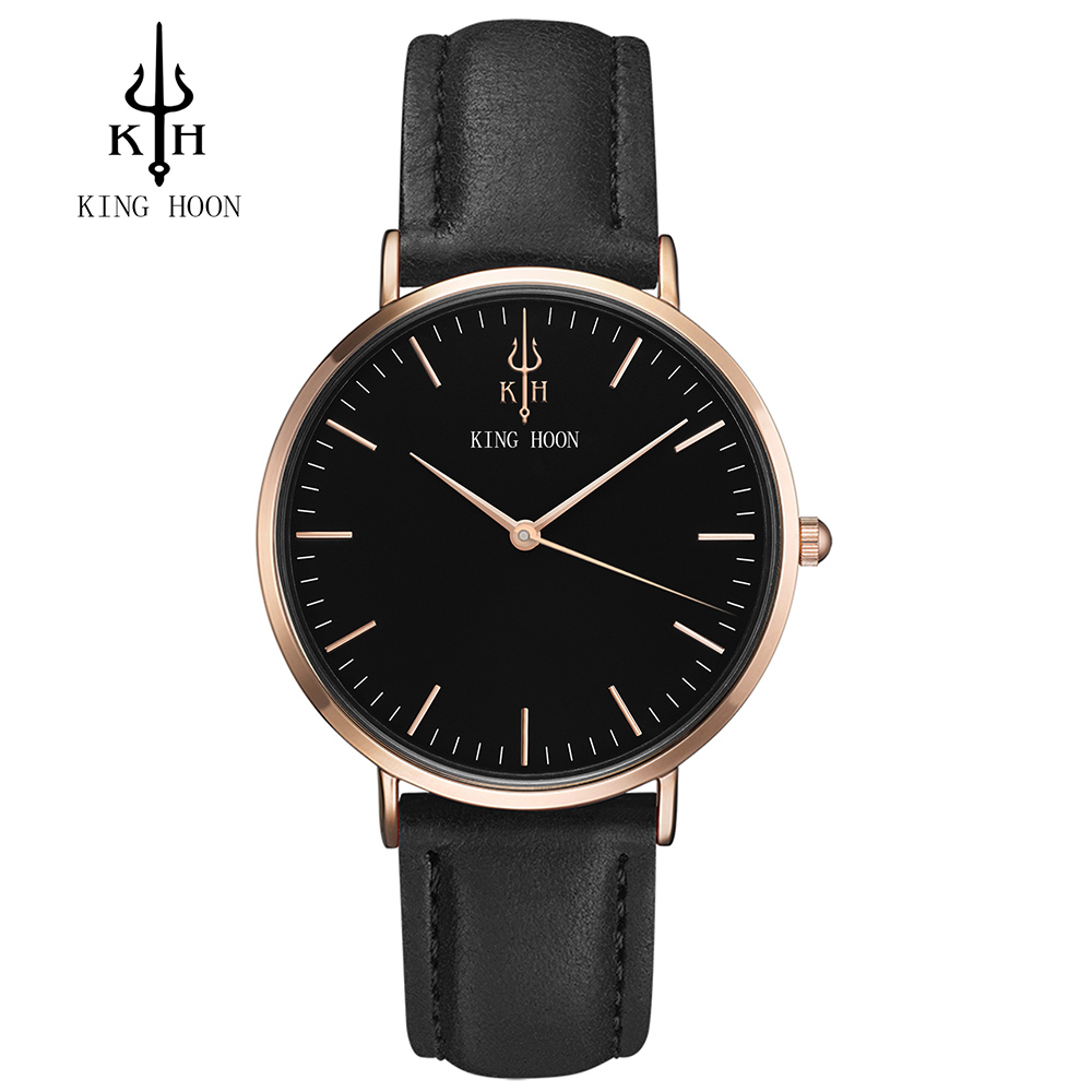 King hoon men watch women watches ladies 2017 brand luxury famous female clock quartz watch for Celebrity watch brand male