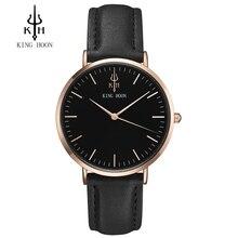 REY HOON hombres Reloj Relojes Mujer Ladies 2017 Famosa Marca De Lujo Mujer Reloj de Cuarzo Reloj de Pulsera Relogio Feminino Montre Femme