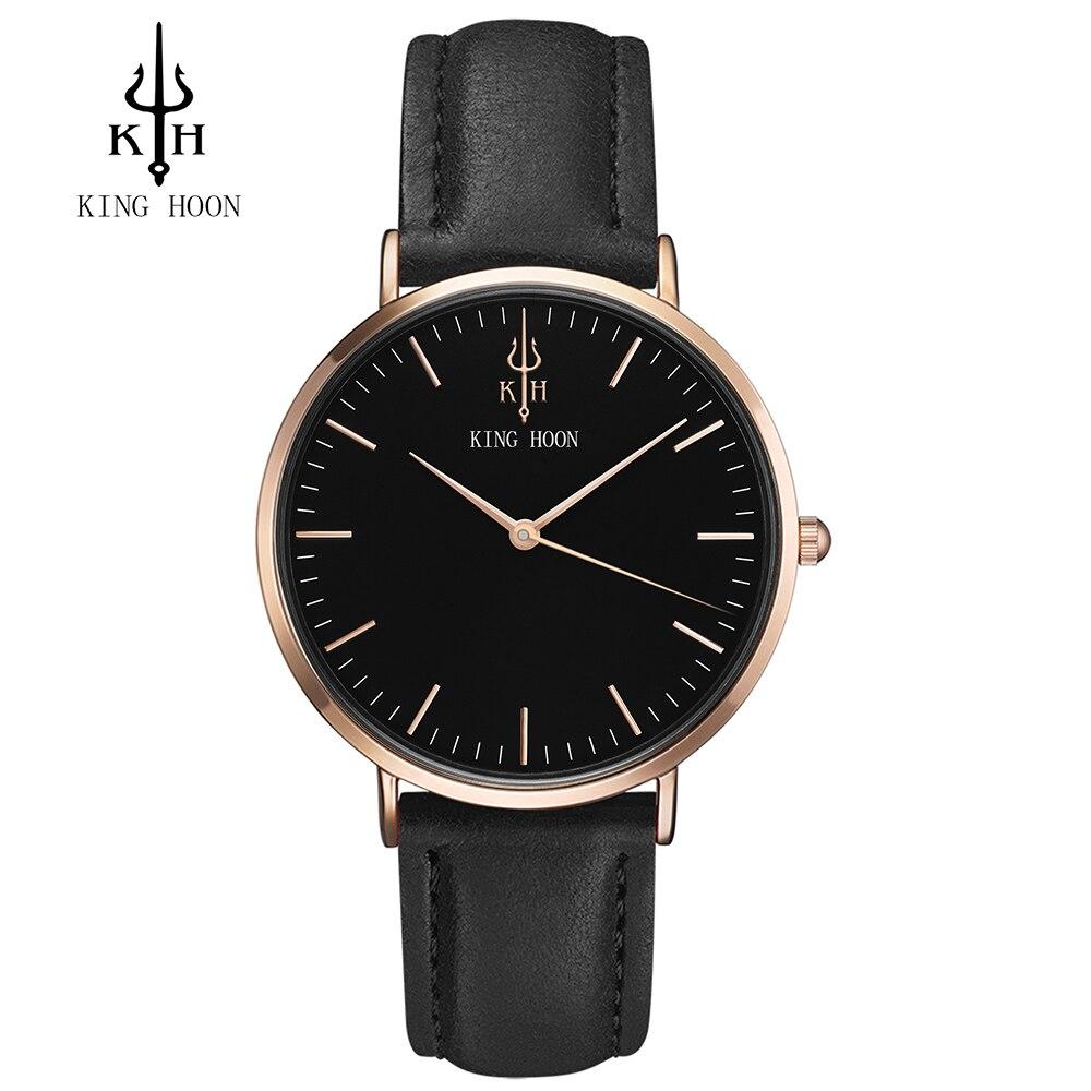 16bdb61db6f REI HOON Relógio dos homens Das Mulheres Relógios Senhoras 2017 Da Marca de  Luxo Famoso Relógio Feminino Relógio de Quartzo Relógio de Pulso Relogio ...