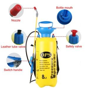 Image 3 - 3/5/8L Pressure Sprayer Compressed Air Spray Garden Sprayer Pump Hand Pressure Watering Spray Garden Irrigation Car Clean 2018
