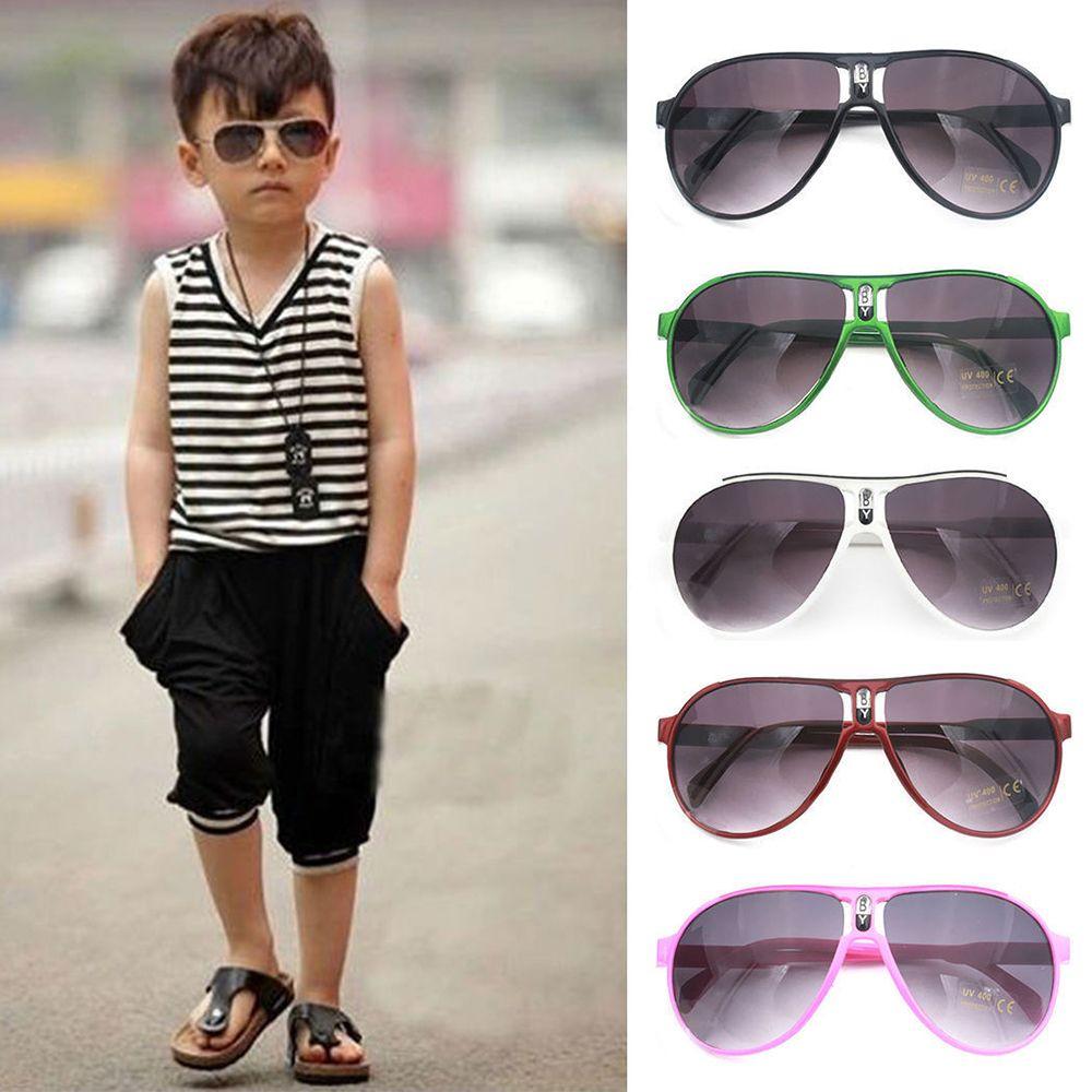 Anti-uv crianças óculos de sol criança meninos meninas máscaras do bebê óculos de condução carro ao ar livre óculos de viagem acessórios de compras