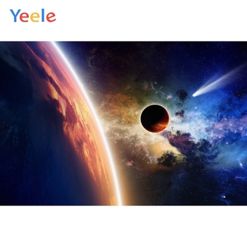 Yeele Deep Space Planet Starry View Photography Backdrops Vinyl Photo Backdrop Custom Backgrounds Photography For Photo Studio