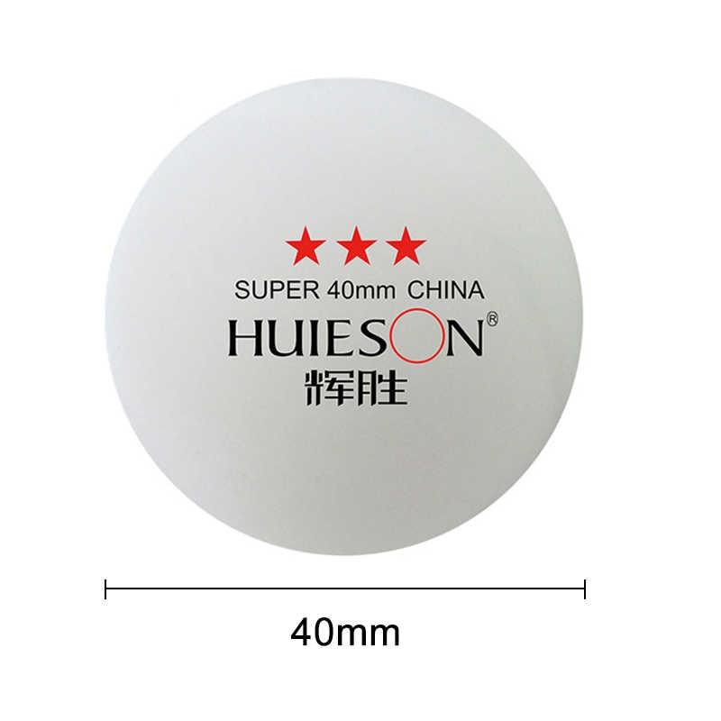 Nuevo 30 unids/set bolas de tenis de mesa de 3 estrellas pelota de entrenamiento profesional de ping pong