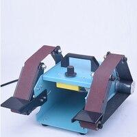 950W 110 230V Multifunctional Sanding Machine Sander Desktop Double Axis Belt Sanding Grinding Machine