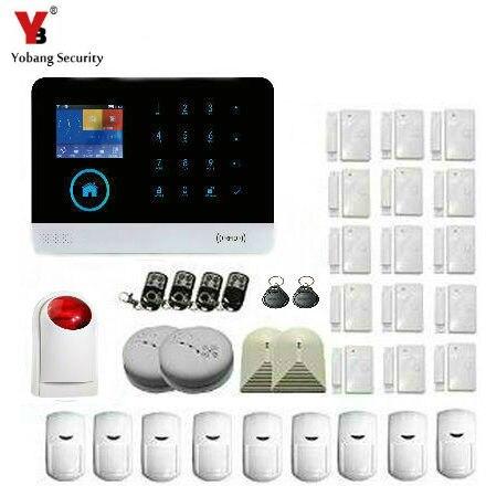 Sicherheit & Schutz Yobang Sicherheit Wifi Ios/android App Fernbedienung Alarmas Casas Rauch Erkennung Gas Sensor Mit Wireless Outdoor Sirene Niedriger Preis Alarm System Kits