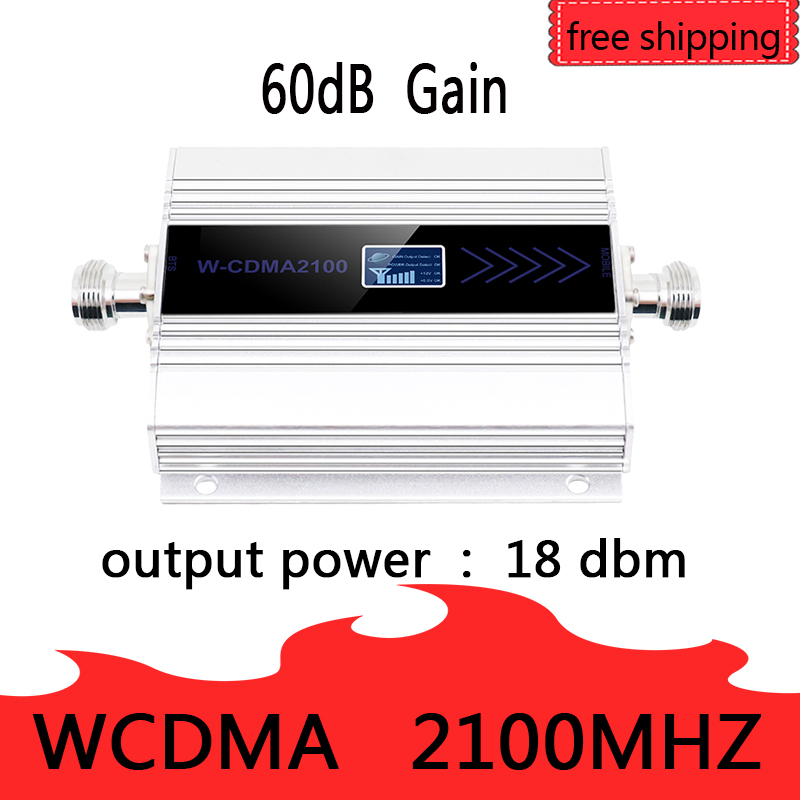 Nouveau PCB 3G Ripetitore 2100MHz répéteur LCD WCDMA 2100 MHZ amplificateur de Signal/amplificateur de Signal Mobile amplificateur de téléphone portable - 3