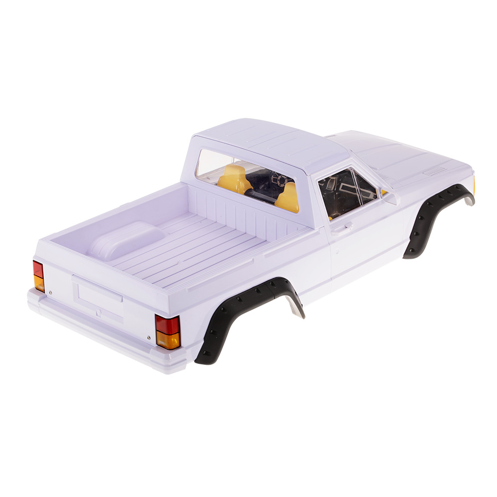 313mm Wheelbase Hard Plastic Pickup Truck Car Body Shell Kit for Axial SCX10 RC4WD D90 1/10 RC Crawler 1 10 rc car 313mm body shell hard plastic cherokee xj scx10 rc4wd abs