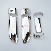 #304 Stainless Steel Door Handle Cover Frame Overlay Panel 2005-2018 Chrome Car Styling For Toyota Hiace Accessories