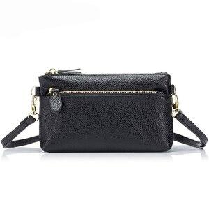 Image 2 - CICICUFF السيدات حقيبة ساع حقيقية الجلود العلامة التجارية النساء صغيرة حقيبة صغيرة الأزياء Crossbody حقائب للنساء يوم جديد براثن