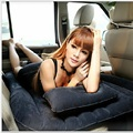Travel car air mattress bed back seat cover inflatable air mattress bed good quality car inflatable camping bed