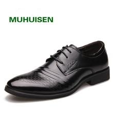 2017 человек Официальная обувь, EJ8858 острый носок Бизнес Натуральная кожа черные блестящие мужские кожаные мужские свадебные оксфорды Туфли под платье, бесплатная доставка