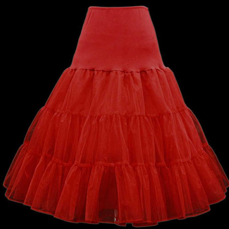 0532f1013a Ball Gown Tulle Crinoline Midi Tutu Tulle Petticoat Elegant Womens  Petticoat Vintage Underskirt Petticoats