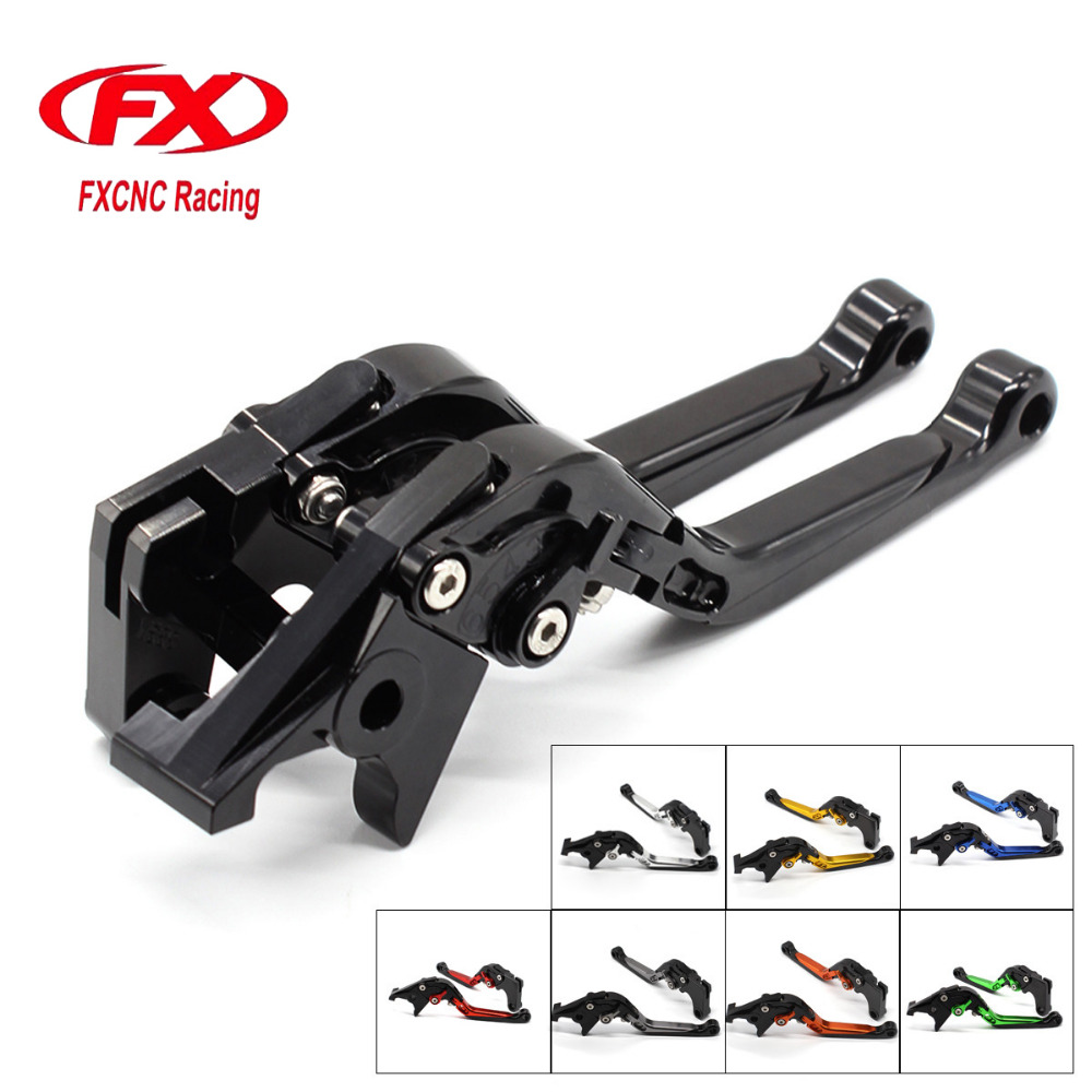 FXCNC Foldable Extendable Motorcycle Brake Clutch lever For YAMAHA MT03 MT-03 2006-2011 2007 2008 2009 2010 Moto Brake Clutch fxcnc fold extend moto lever motorcycle brake clutch levers for moto guzzi norge 1200 gt8v 2006 2015 2007 2008 2009 2010 2011