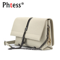 Summer Small Messenger Bags For Girls 2018 Women Leather Corssbody Bag Female Chains Shoulder Bag Bolsa
