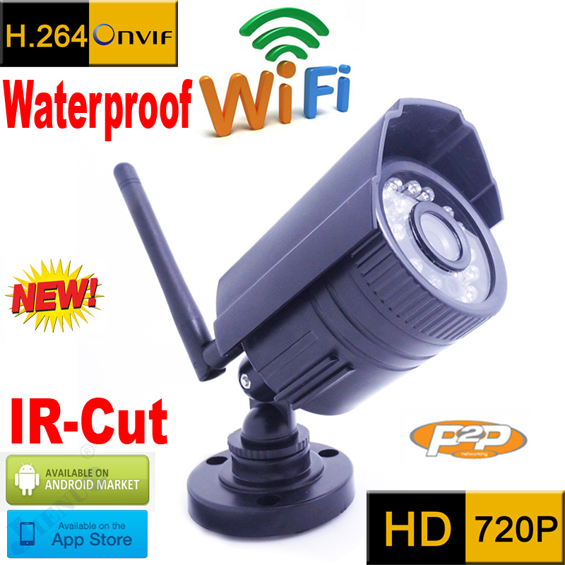 ip camera 720p wifi cctv security system waterproof wireless weatherproof outdoor infrared mini Onvif H.264 IR Night Vision Cam цена