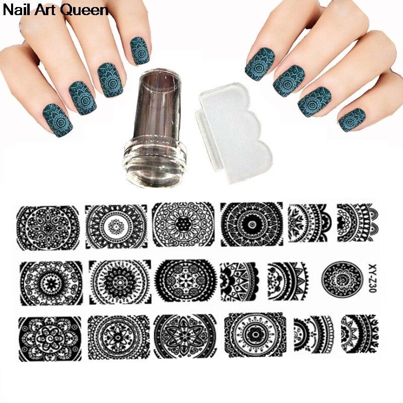 Nail Design New Xy Z 30 Style Nail Stamping Plate Set Nail Beauty 3d