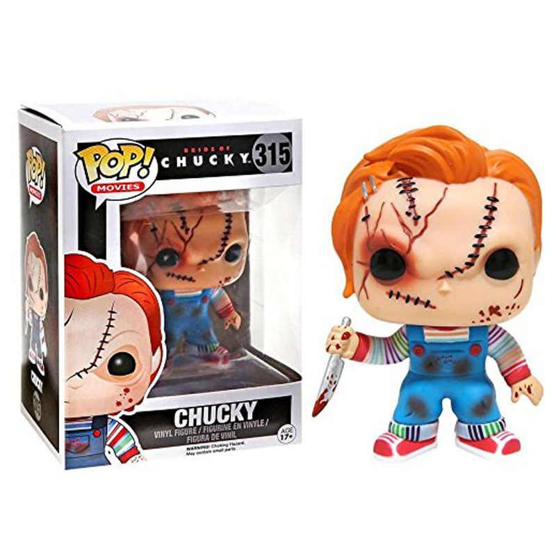 Funko POP IT Stephen King's It Pennywise Чаки пила Billy Scan Ghostface фигурка модель игрушки для детей подарок на день рождения