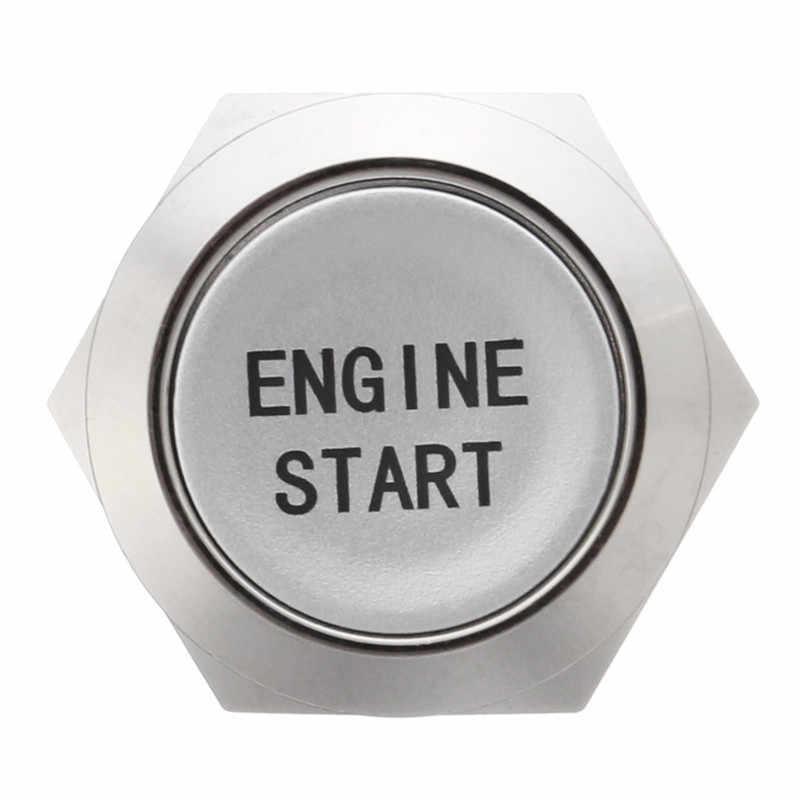 12 v مصباح ليد العالمي بدء زر التبديل المحرك سيارة بدون مفتاح موتور بدء تشغيل المحرك زر الإشعال مفتاح ضغط استبدال Enginee بدء