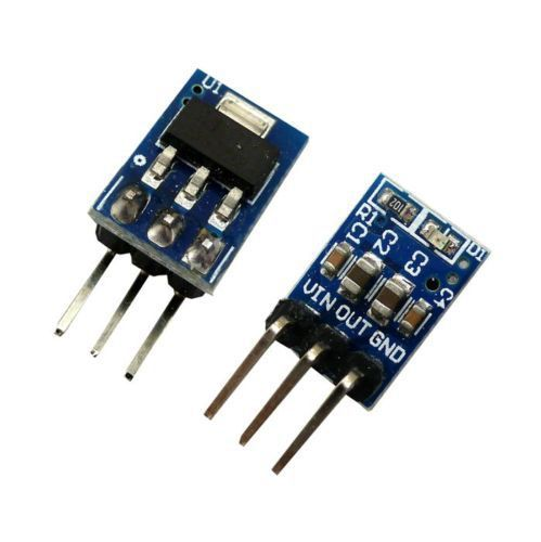 1PCS DC 5V to 3.3V Step-Down Power Supply Module AMS1117-3.3 LDO 800MA