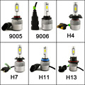 2Pcs Guaranteed Car LED Headlights 9007 H7 H4 H3 H11/H8/H9 HB3/9005 HB4/9006 8000LM Super Power Replacement Bulb Kit For Mazda