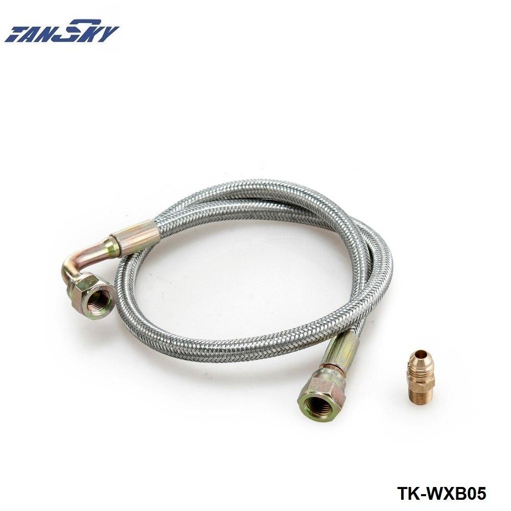Kinugawa Turbo Oil Feed Line For CA180DET SR20DET TRUSTs T518Z T517Z