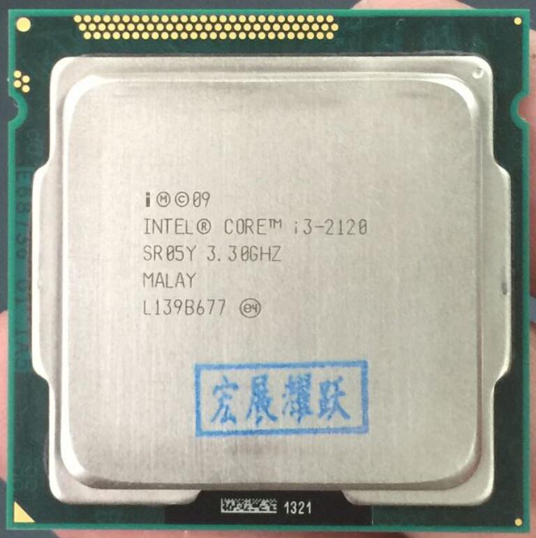Computador pc intel core i3-2120 i3 2120 processador (3m cache, 3.30 ghz) lga1155 desktop cpu