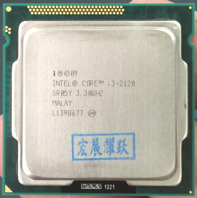 Prix pour Intel Core i3-2120 i3 2120 Processeur (3 M Cache, 3.30 GHz) LGA1155 Bureau CPU