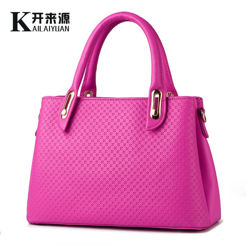ФОТО Woman Package 2016 New Pattern Bag Woman Demeanour Finalize The Design Fashion Woman Package Messenger Single Shoulder Handbag