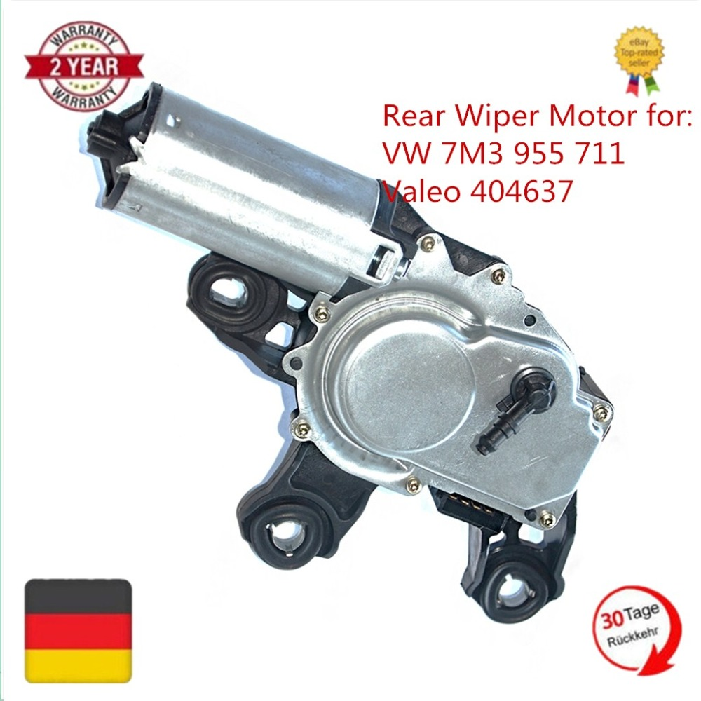 AP01 New Rear Wiper Motor For Ford Galaxy Seat Alhambra VW Sharan 7M8 7M9 7M6 1.9 2.0 TDI  7M3955711  404637 7M3 955 711