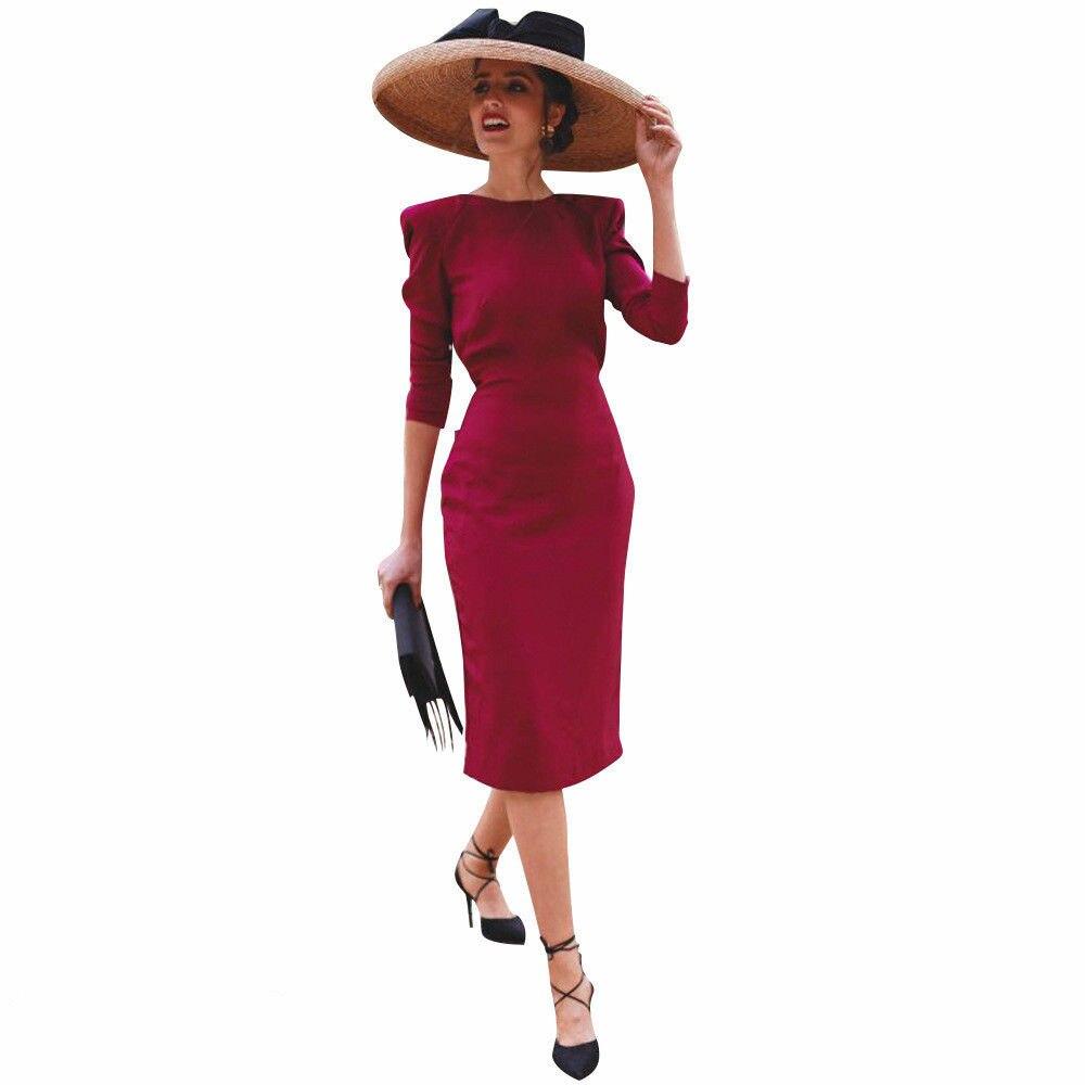 Detail Feedback Questions about Women Fashion Bowknot Ladies Party Dresses  Long Sleeve Bodycon Bandage Dress elegant OL formal vestido on  Aliexpress.com ... 015361386867