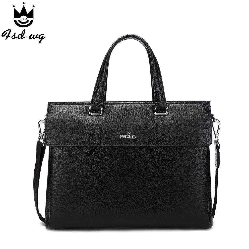NEW!briefcase famous brand men handbag pu leather business messenger bags men's crossbody bags bolsos mens shoulder bag