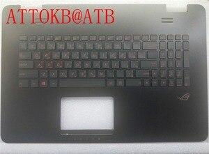 Image 5 - RU 미국 LA AR 표준 노트북 키보드 ASUS N751 N751J G771 G771JW GL771JM GL771JW GL771 커버 c가있는 백라이트 포함