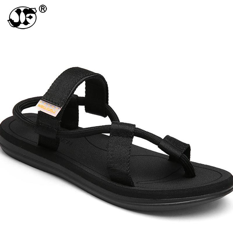 2018 new summer beach shoes men sandals roma leisure breathable clip toe is cool procrastinate dual-purpose sandal male