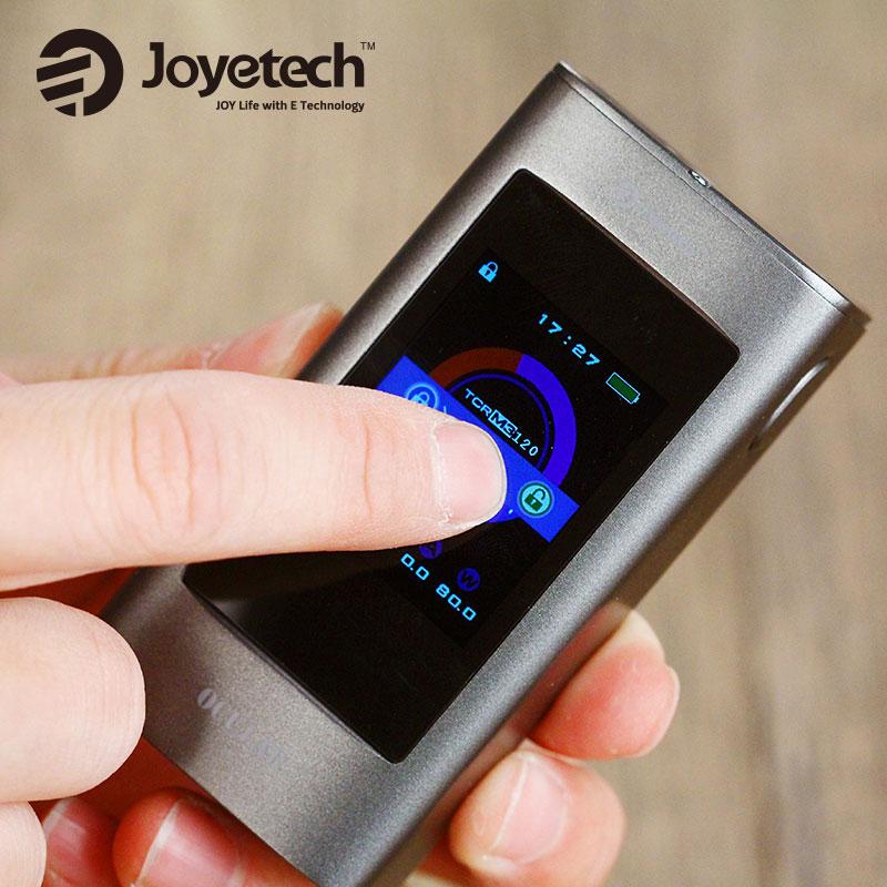 Originl 80W Joyetech OCULAR Touchscreen TC Box MOD 5000mah Battery 1.68 inch Screen 2GB Memory Ocular Mod 80w for Fine Vaping