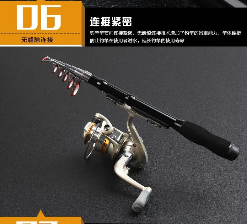 Yumoshi Fishing Rod Reel Combo 26