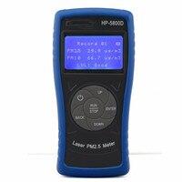 Портативный PM2.5/PM10 монитор пыли детектор газоанализатора цифровой Мониторинг качества воздуха HP5800D Подсветка окружающей тестер